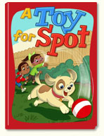ABC mouse book: A Toy for Spot Book